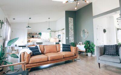 Sådan indretter du den hyggeligste stue
